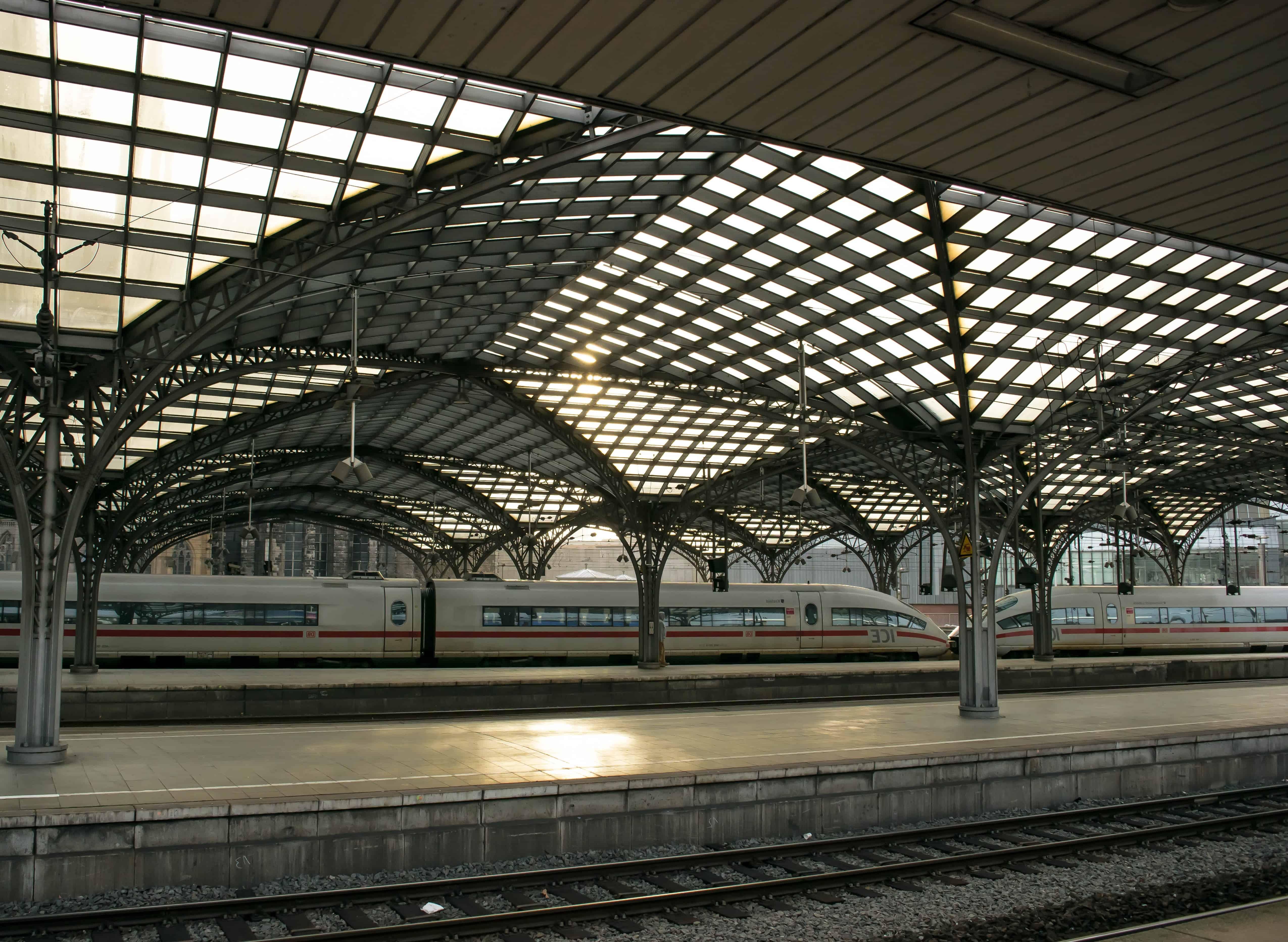 Free Picture Train Station Architecture Urban Modern