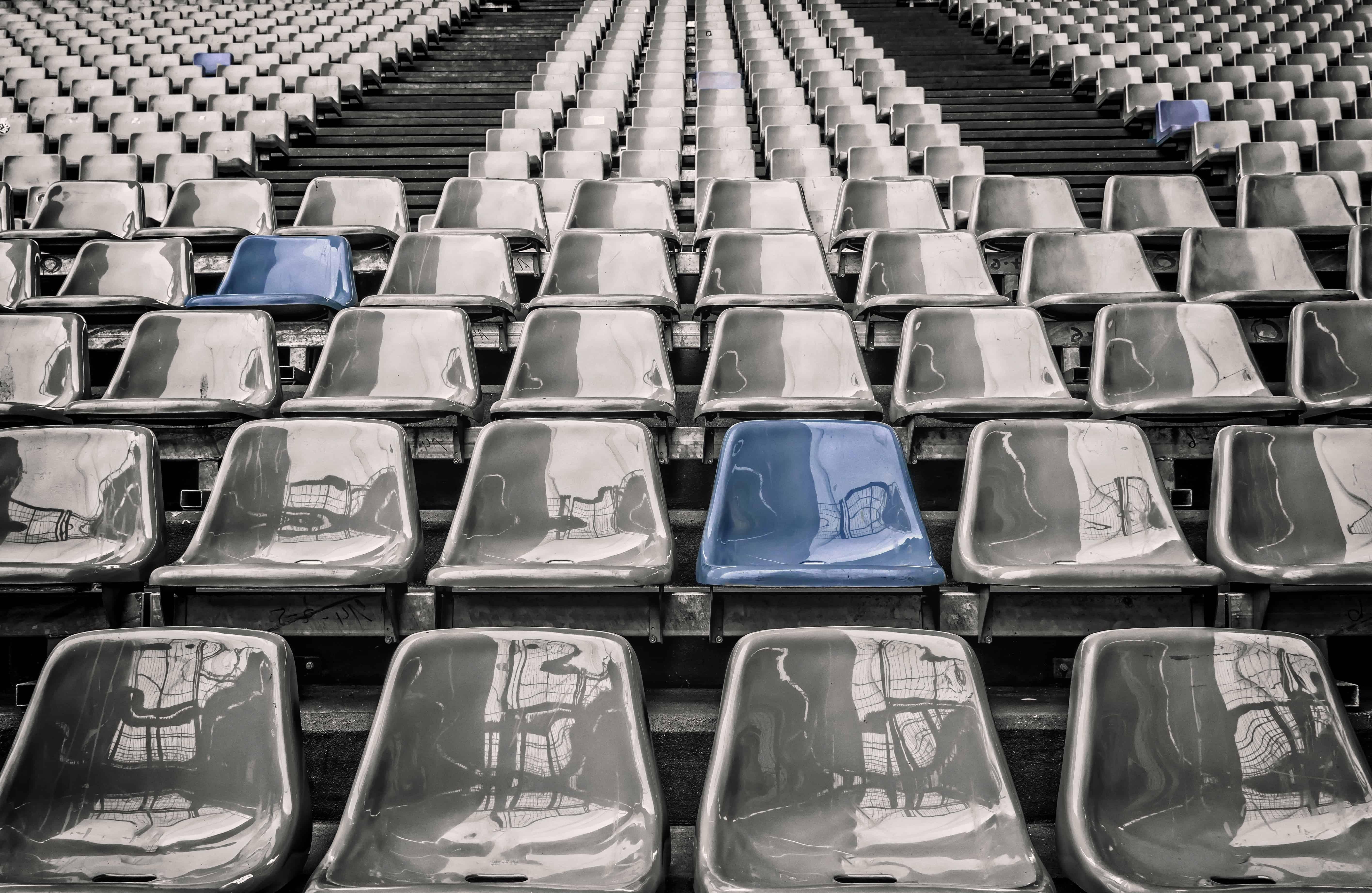 Imagen gratis muebles silla tribuna estadio de ftbol