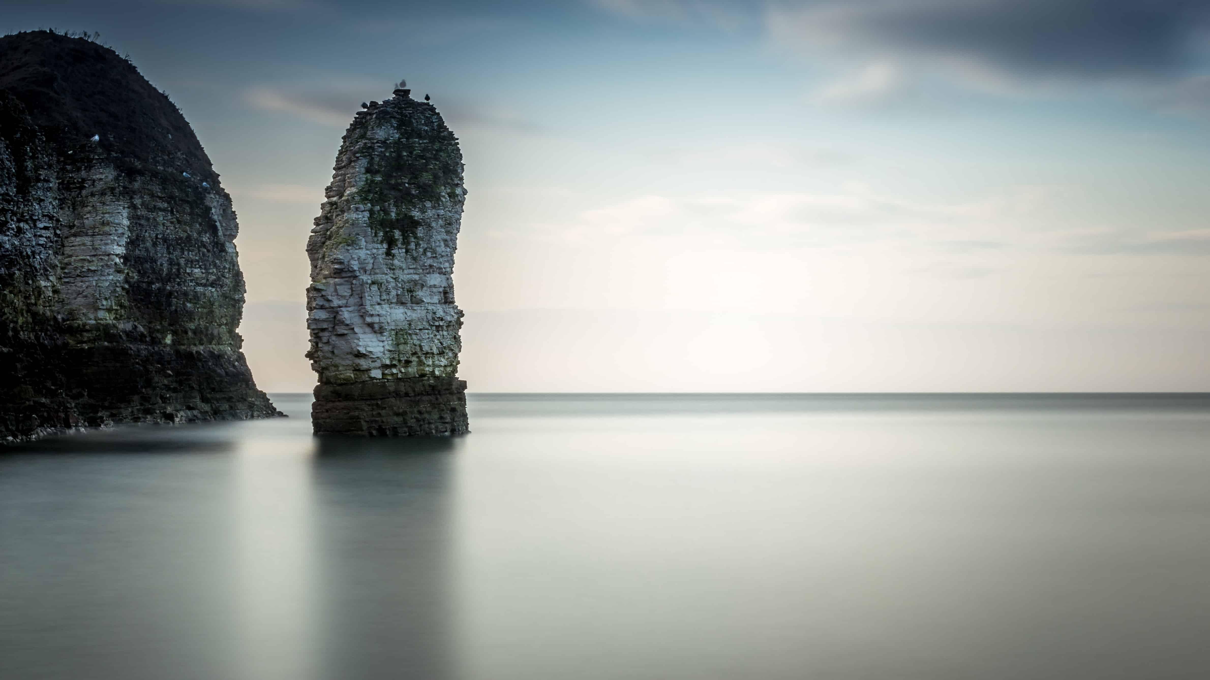 Free Picture Island Water Sea Cliff Rock Ocean Sky