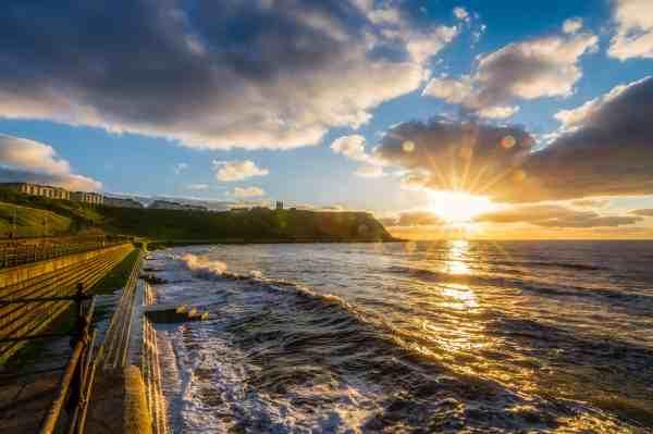 free dawn sun water