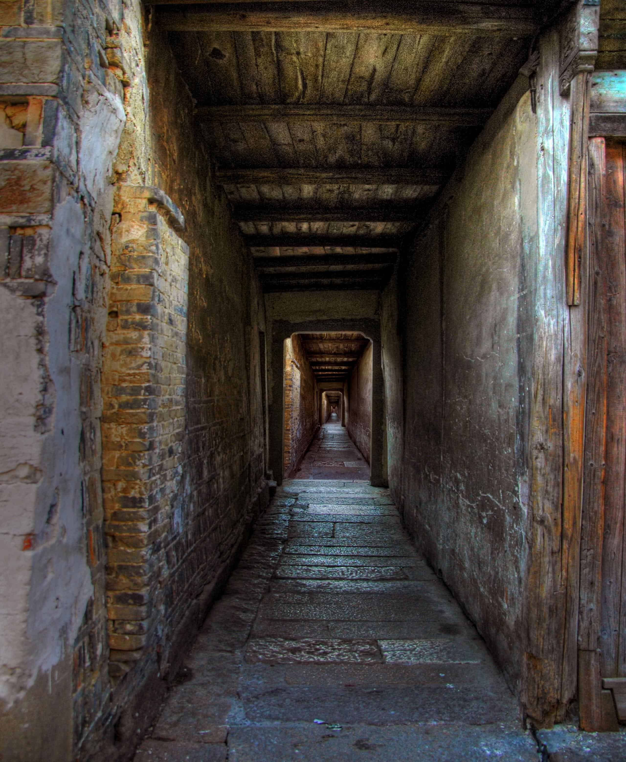 Free Picture Architecture Shadow Passage Old Hallway
