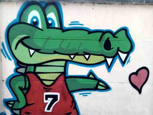 Free Crocodile Street Urban Vandalism Art