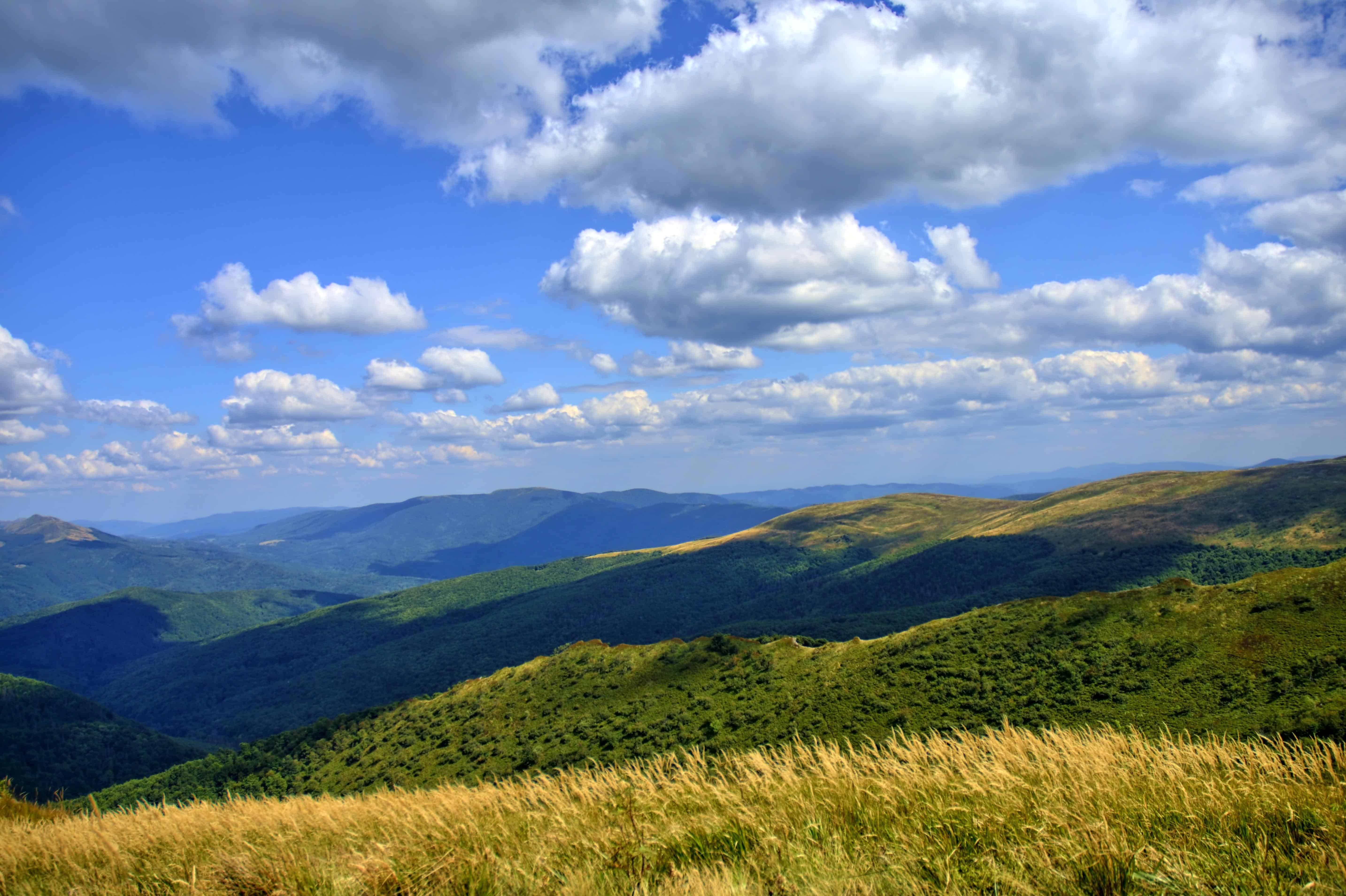 Free picture hill mountain landscape nature sky