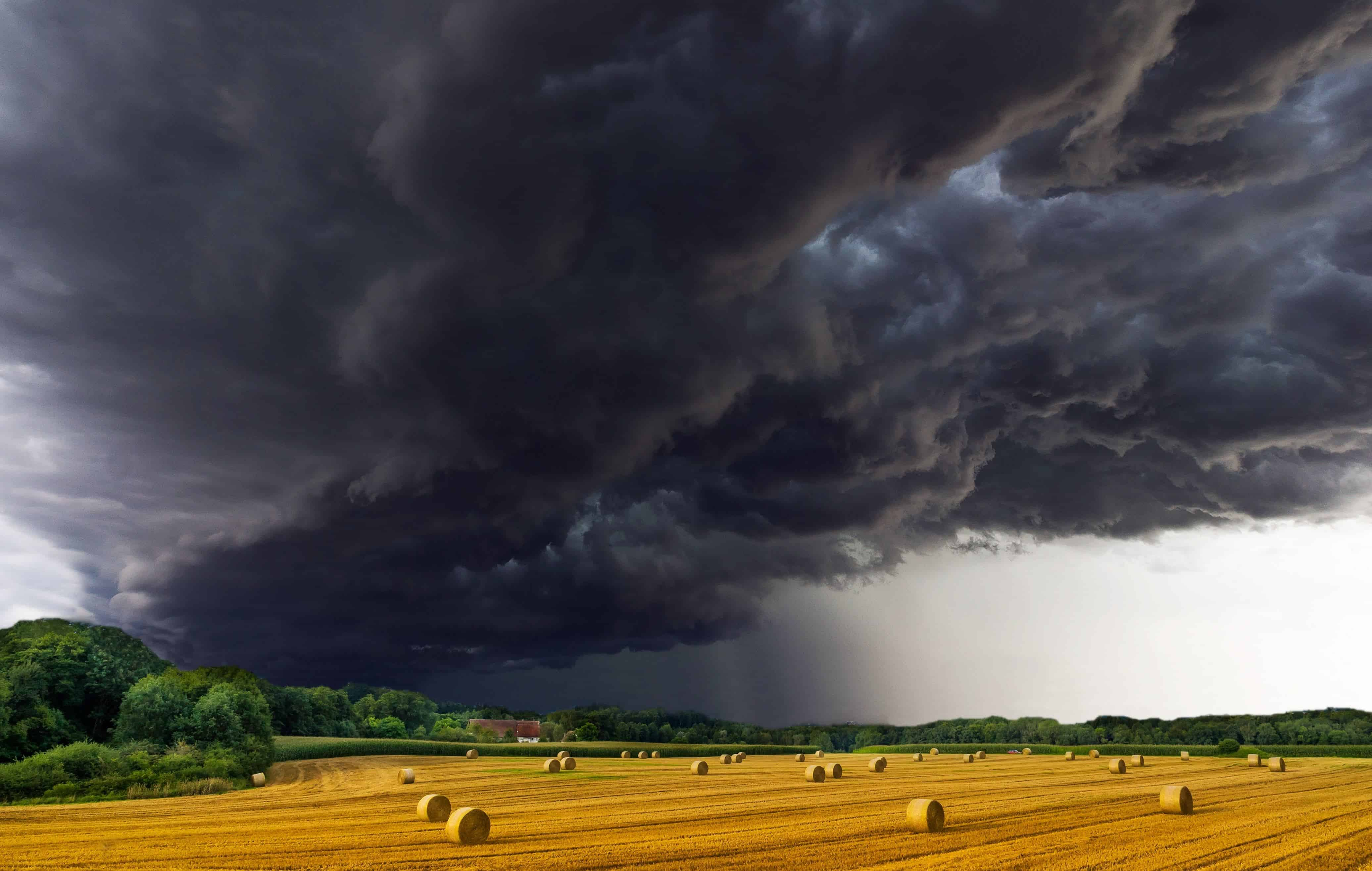 Free Picture Meteorology Storm Countryside Sky