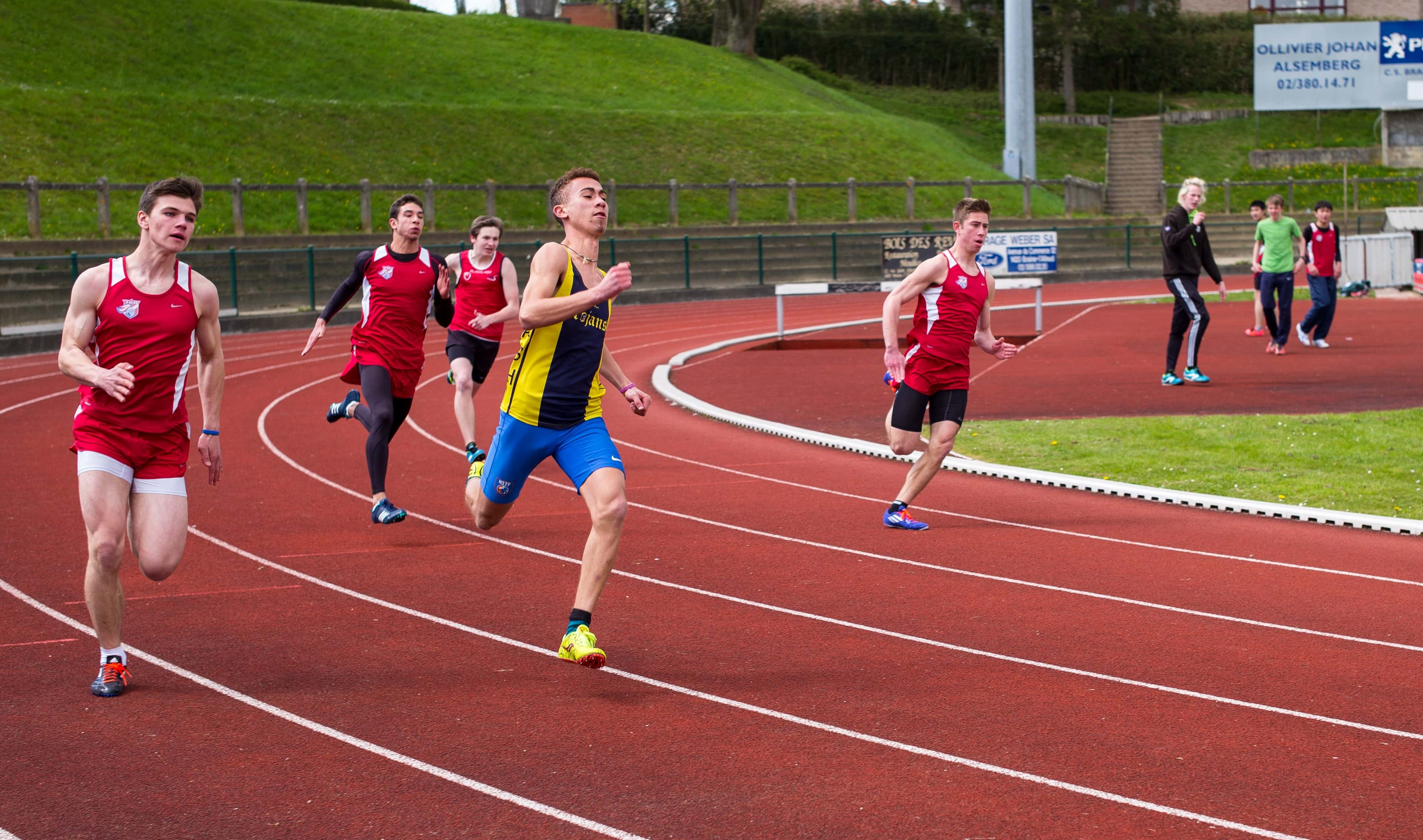 Free picture: race. sport. athlete. competition. stadium. foot race. marathon. exercise