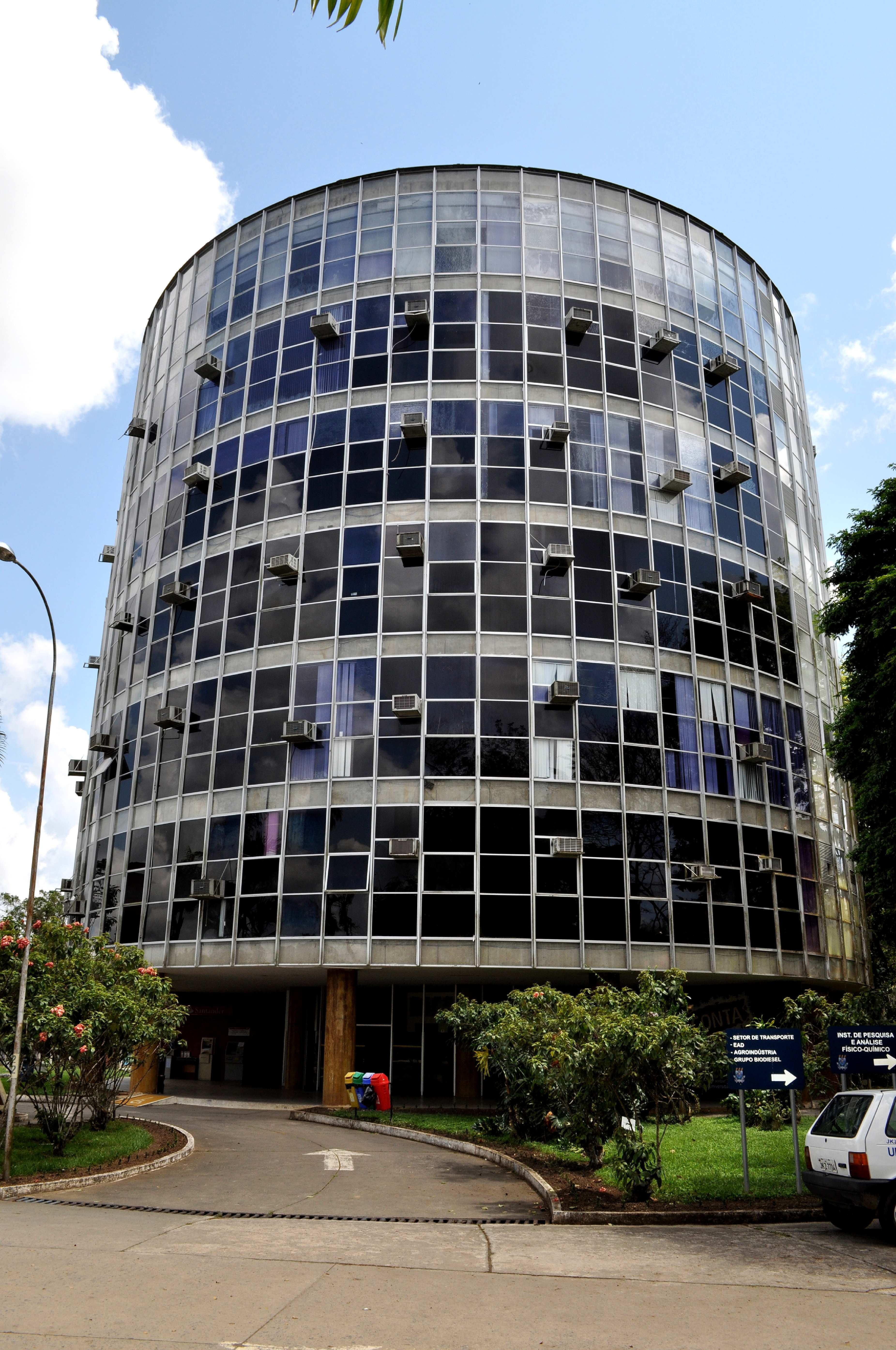 Free picture circular building glass