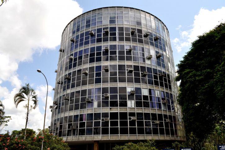 Free picture circular building glass facade