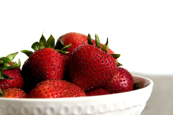 Free picture fresh fruit upclose food strawberries