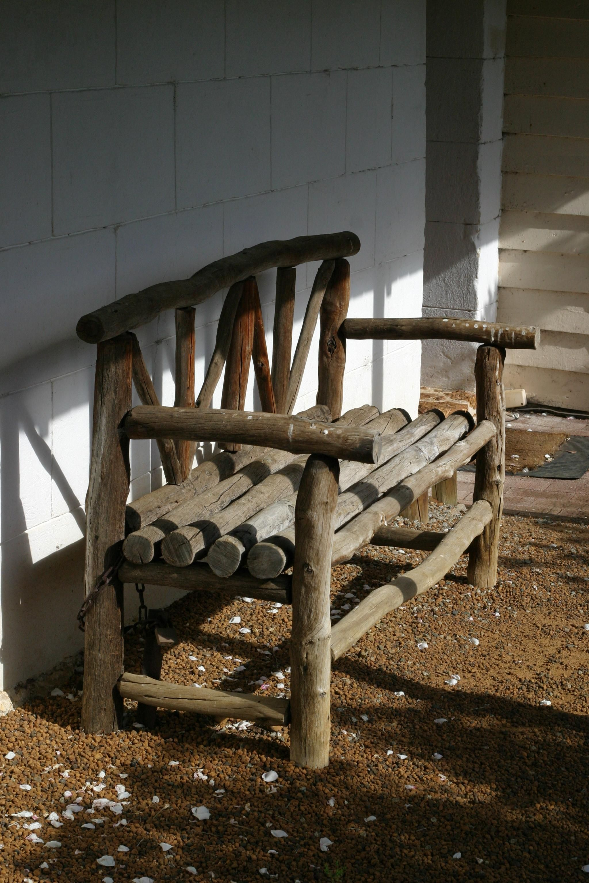 steel chair bush potty training free picture timber bench mount barker museum