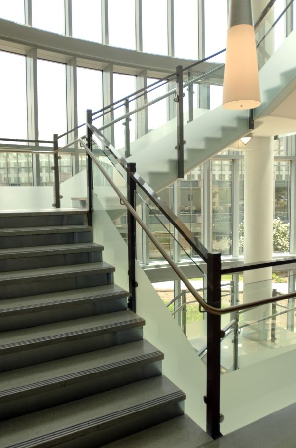 Free Stairwell Constructed Open Architectural