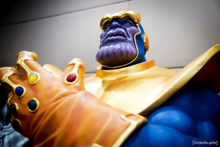 The Mad Titan himself -- Thanos! Can't wait for his live-screen incarnation.