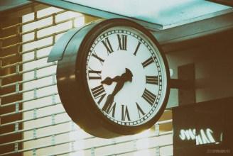 Clock on a Queen St. Bldg.