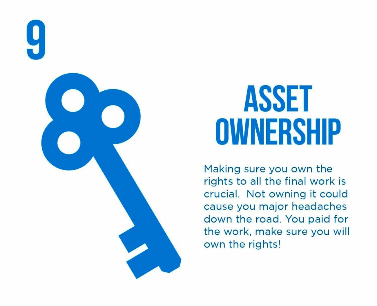 PixoLabo - Hiring a Web Designer - Asset Ownership