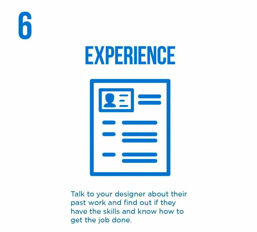 PixoLabo - Hiring a Web Designer - Experience