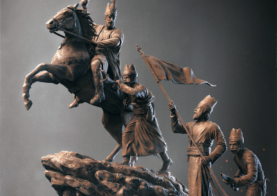 Nader Shah-For Honor II by 3dcube