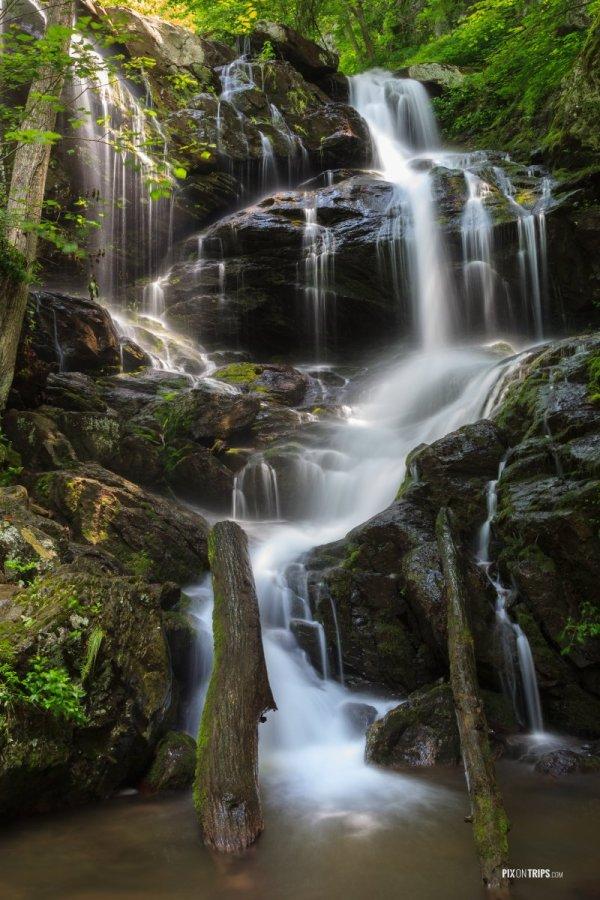 Waterfalls Shenandoah National Park