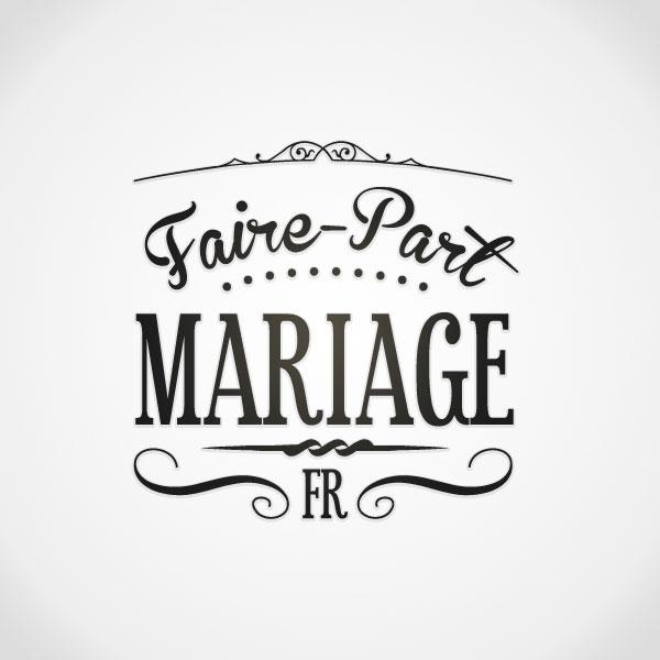 Logo Faire-part Mariage