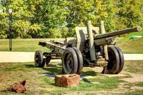 sowjetische 152-mm-Kanone