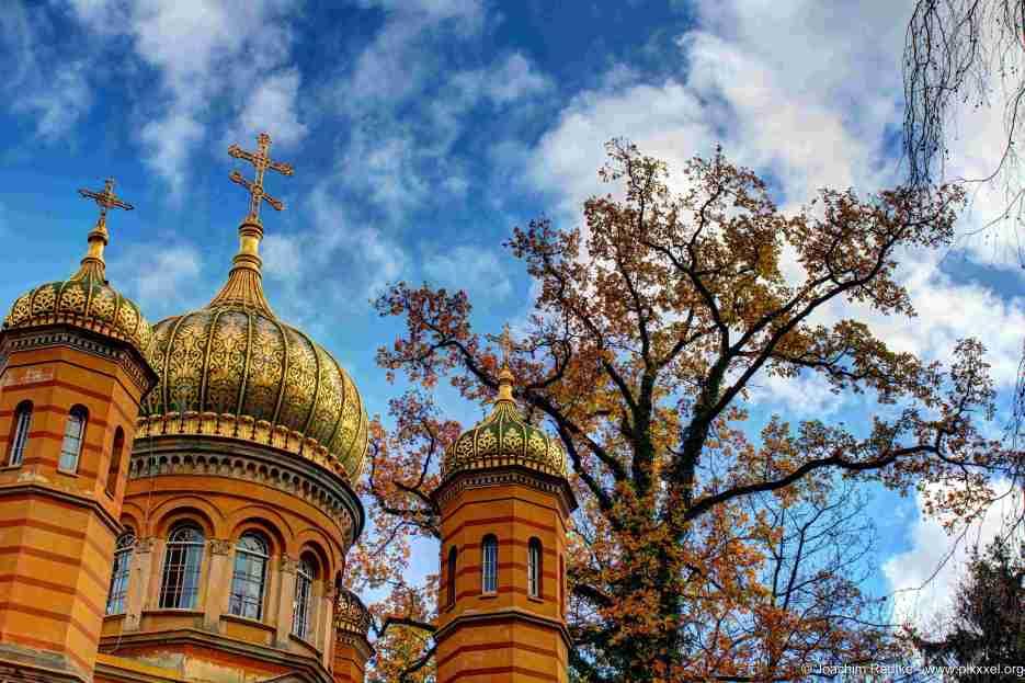 die Russisch-Orthodoxe Kapelle in Weimar