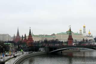 Blick zum Kreml