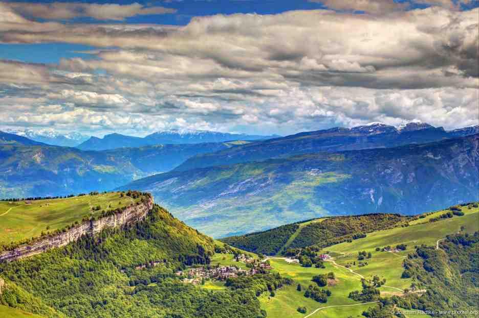 Blick vom Monte Baldo, Italien (4)