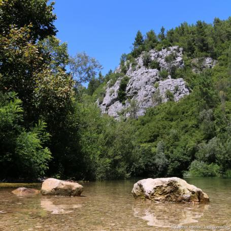 der Fluss Cetina