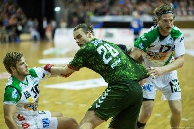 DKB Bundesliga Handball 23.12.2014 Füchse Berlin - Frisch Auf! Göppingen ,J.Radtke,www.pixxxel (69)