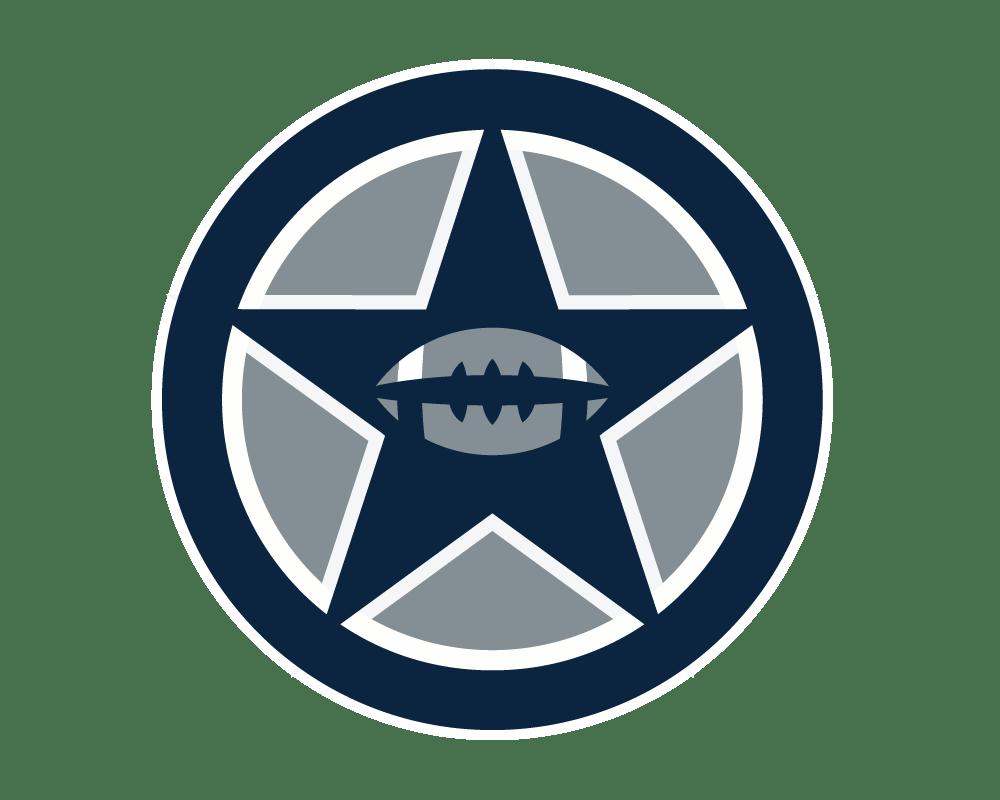 hight resolution of dallas cowboys emblem clip art free download