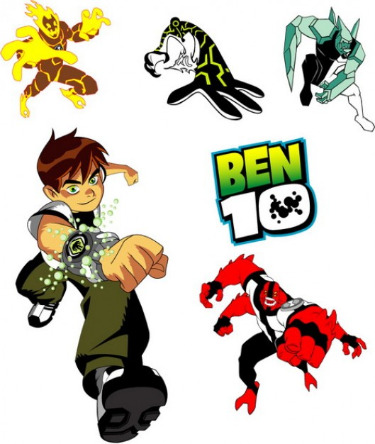 Can you name these famous simpsons characters? Ben 10 Characters Vectors Free Image Download