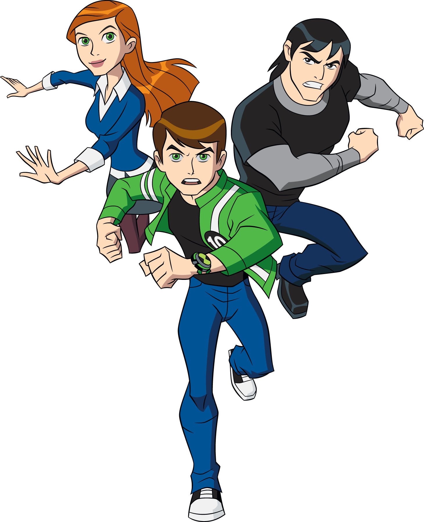 The cartoon town of springfield is inhabited by a huge cast of wacky and weird characters. Ben 10 Characters Alien Force Drawing Free Image Download