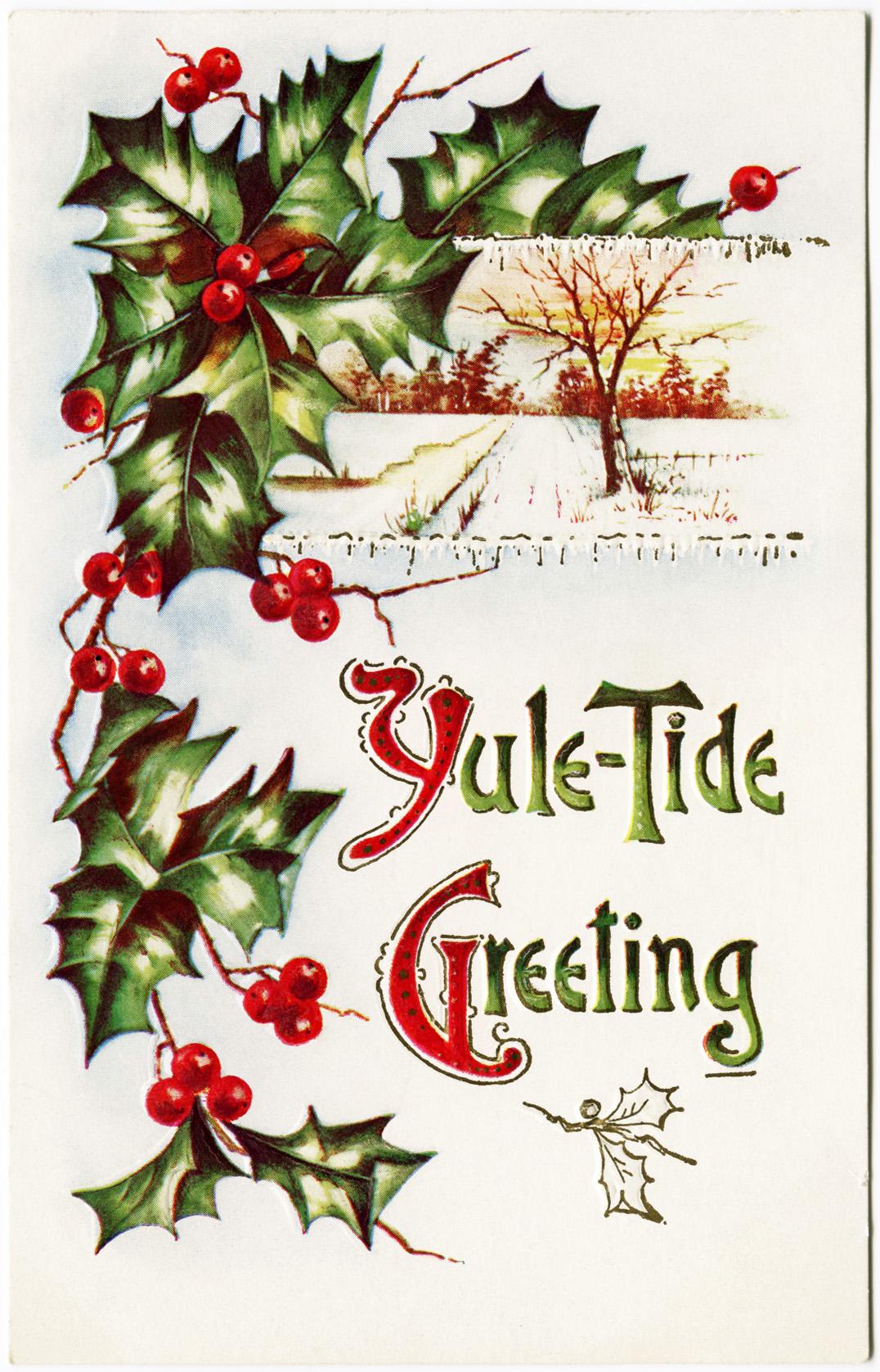Public Domain Vintage Christmas Images : public, domain, vintage, christmas, images, Public, Domain, Vintage, Christmas, Image