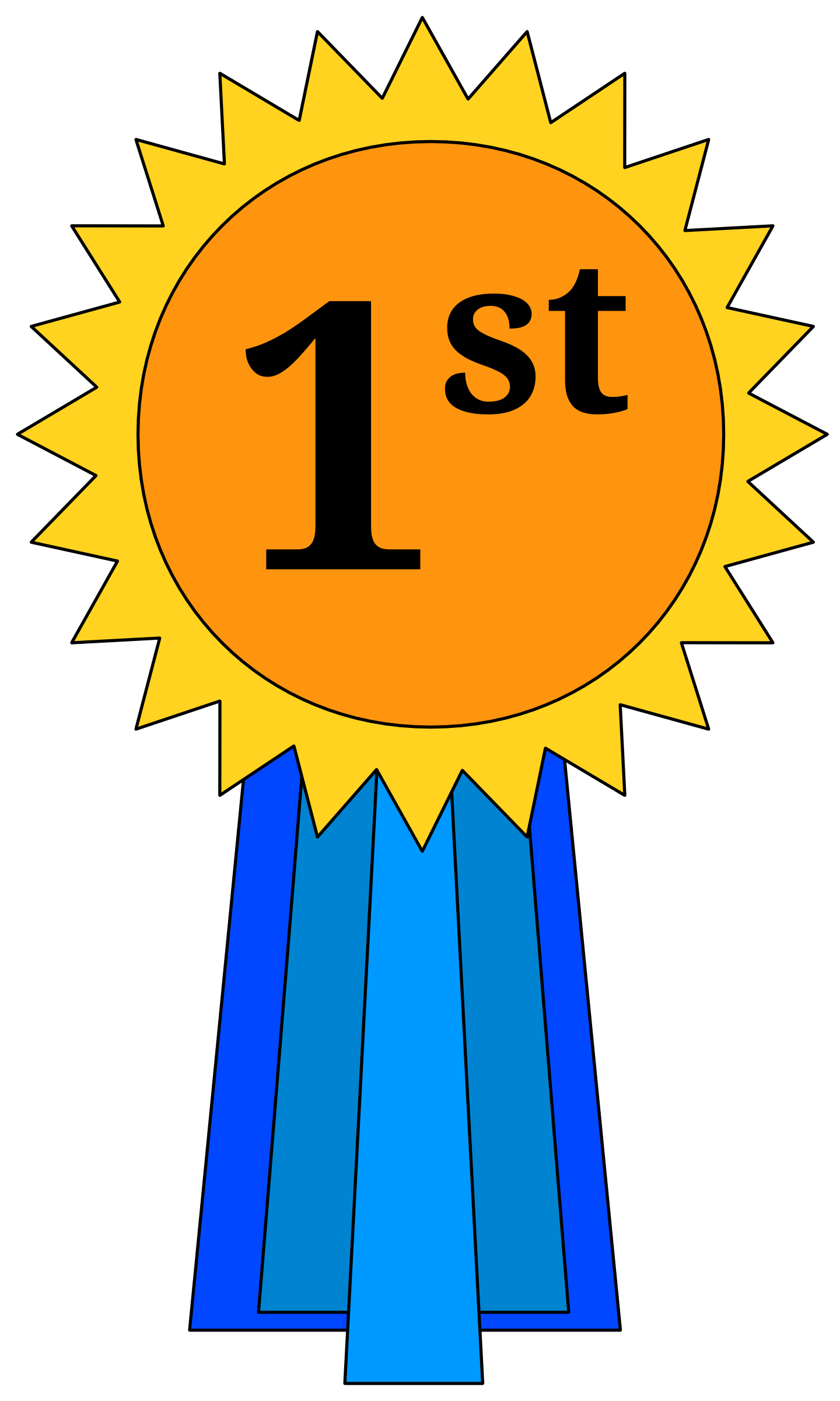 hight resolution of 1st place award ribbon clipart placepng