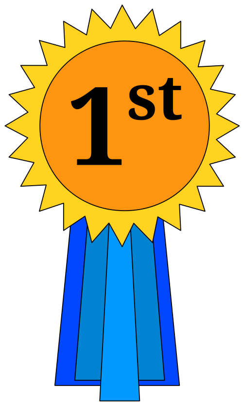 small resolution of 1st place award ribbon clipart placepng