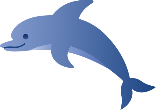 small resolution of cute blue dolphin free clipart free download