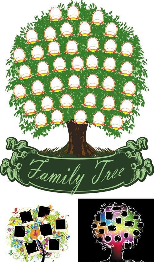 Free Family Tree Clipart : family, clipart, Clipart, Family, Image