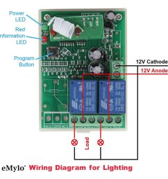 12v remote control wiring diagram wiring diagram centre wireless remote control light diagram [ 1000 x 1000 Pixel ]