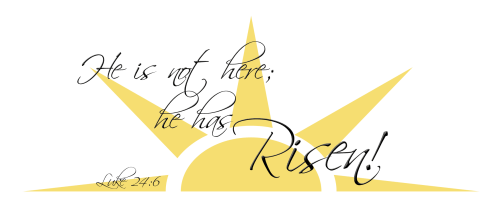 small resolution of he has risen clip art n2 free download