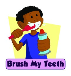 brushing teeth clip art n37 free download [ 2550 x 3300 Pixel ]