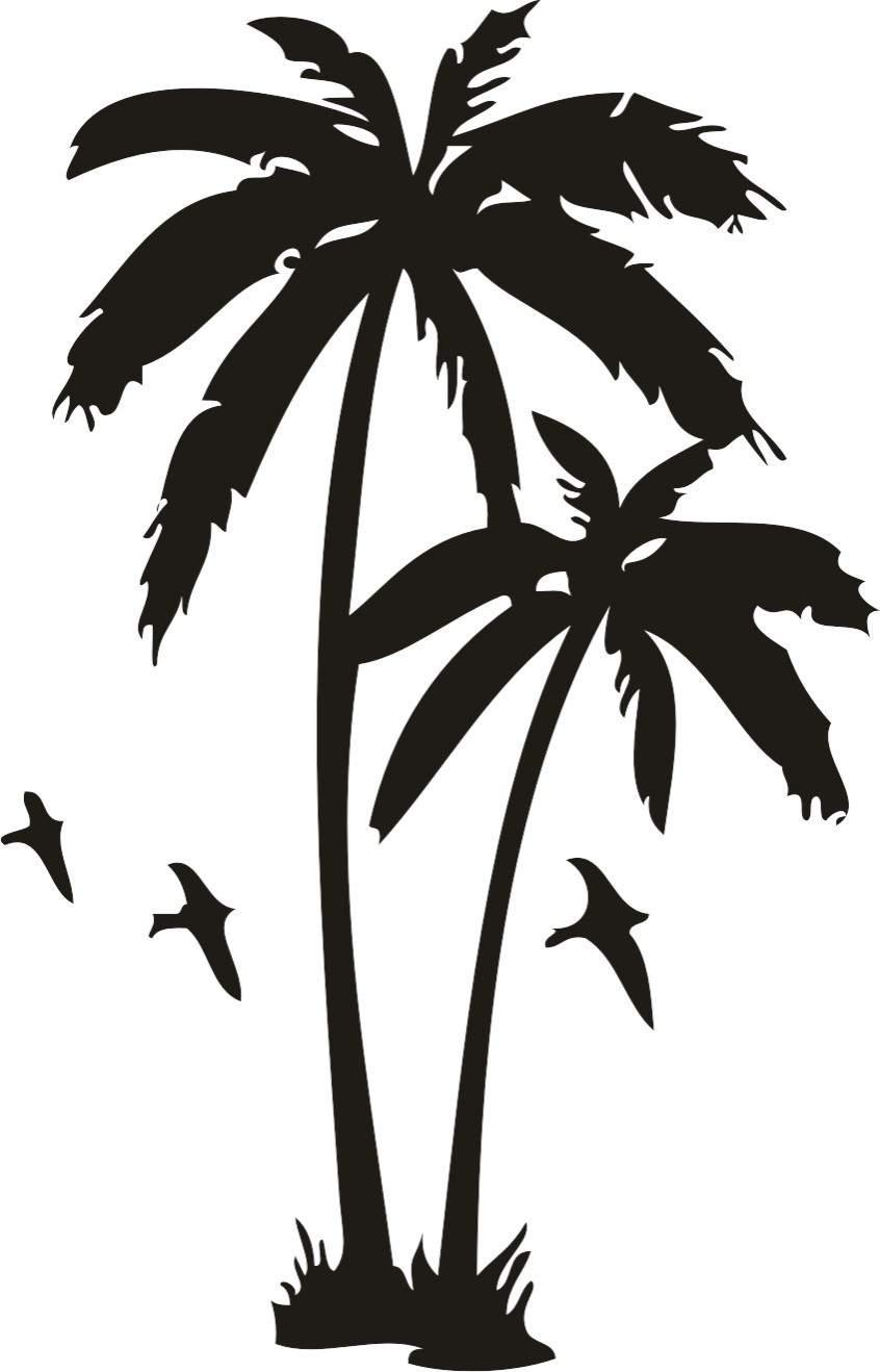 Palm trees photo | Etsy