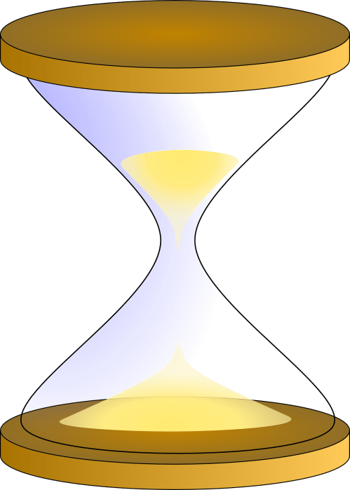 small resolution of yellow hourglass clipart