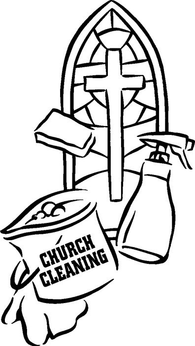 Church Clean Up Day Clip Art N3 free image