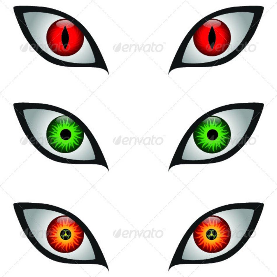 medium resolution of scary monster eyes
