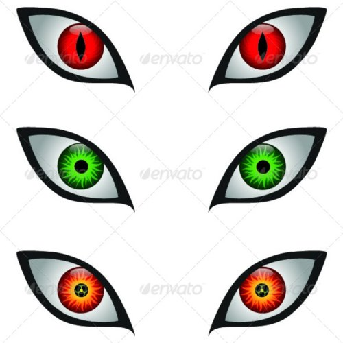 small resolution of scary monster eyes