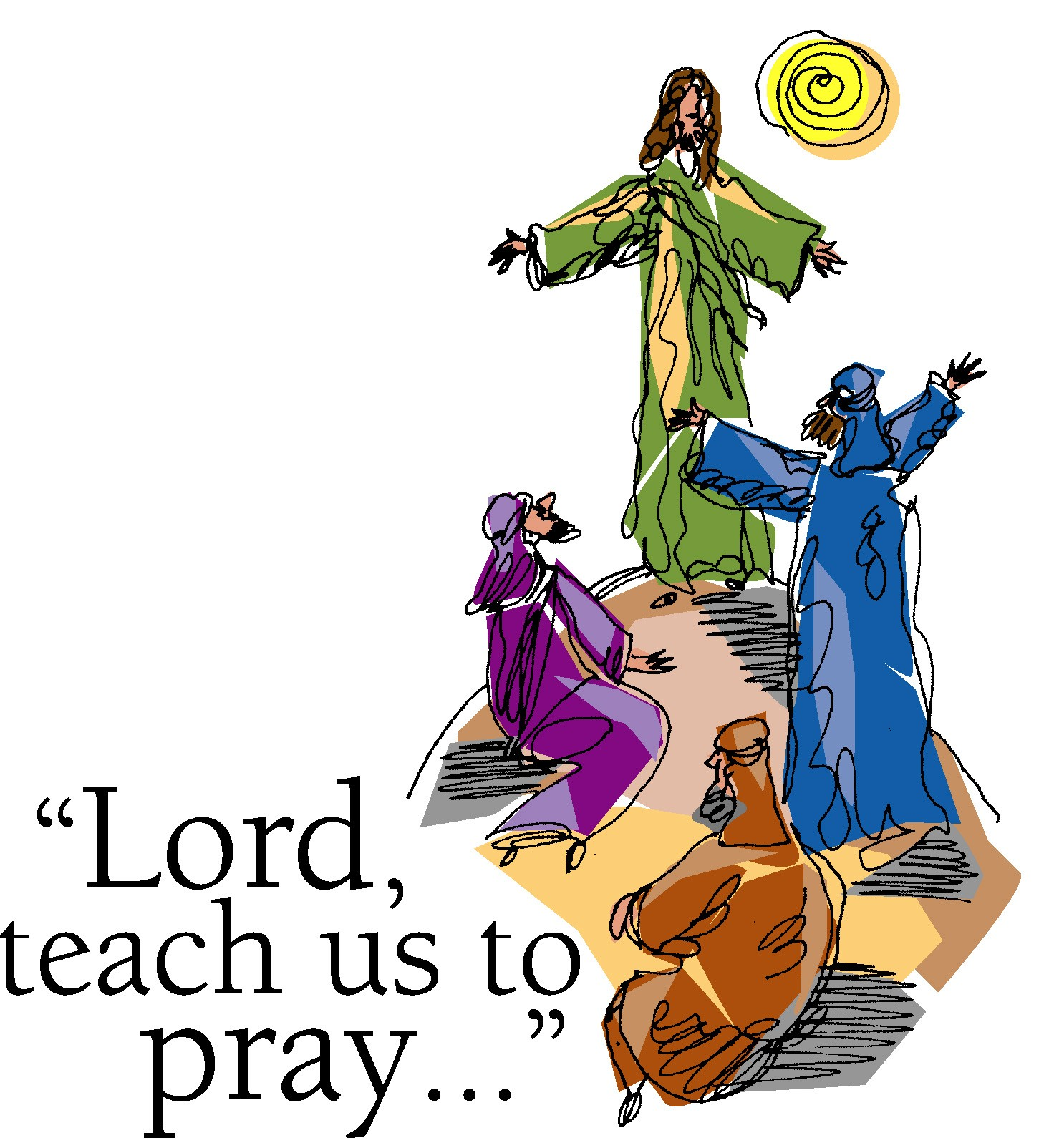 Lords Prayer Clip Art N3 Free Image