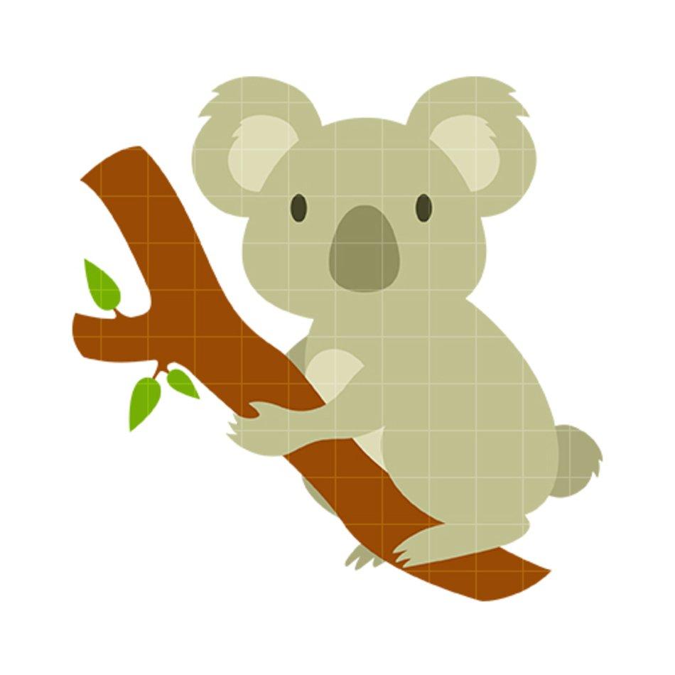 hight resolution of koala bear clip art n30