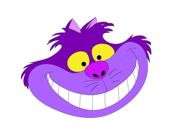Alice In Wonderland Cheshire Cat Smile Free