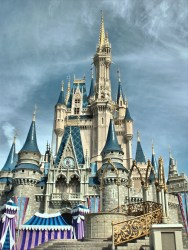 Beautiful castle from fairytale free image