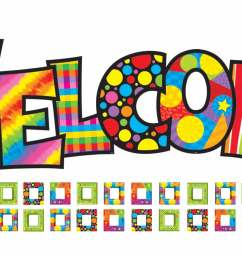 details about razzle dazzle welcome bulletin board classroom display clipart [ 1800 x 900 Pixel ]