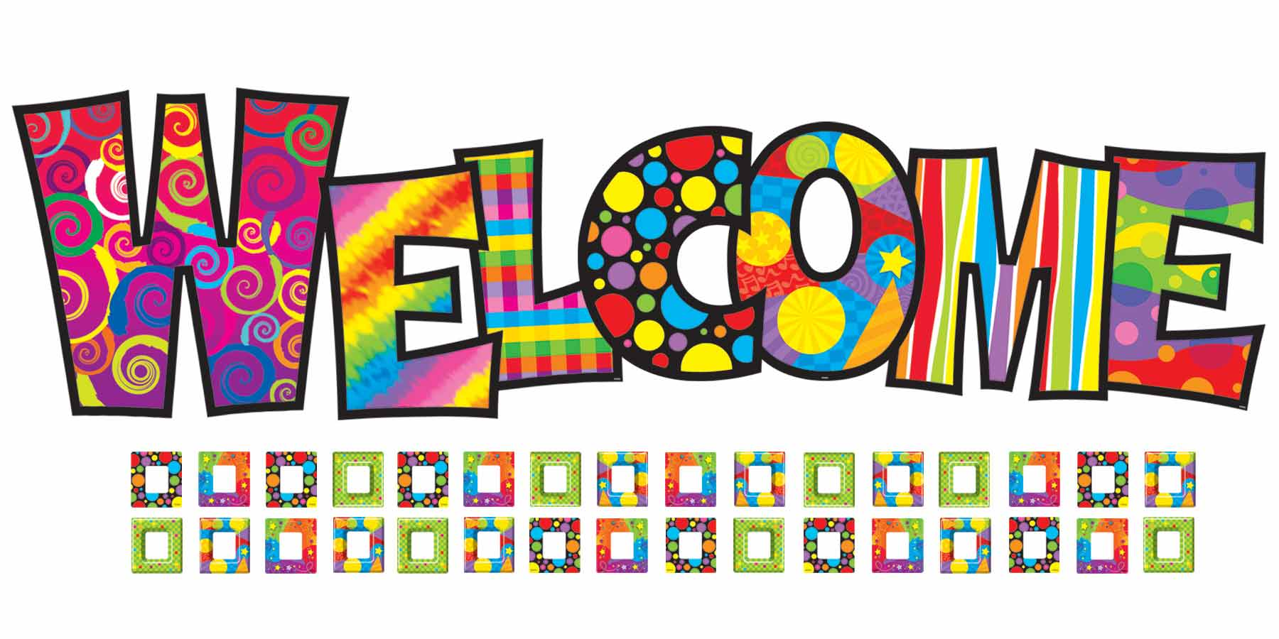 hight resolution of details about razzle dazzle welcome bulletin board classroom display clipart