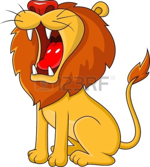 small resolution of roaring lion clip art n11